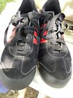 Adiddas Samoa Mens Sneakers Red And Black Size 11