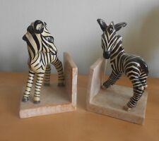Goldscheider MYOTT Art Deco Zebra REGGILIBRI COPPIA 1930s/40s RARA
