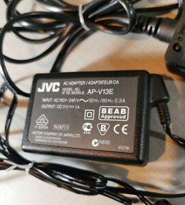 GENUINE JVC AP-V13E POWER SUPPLY CAMCORDER  FREE P&P