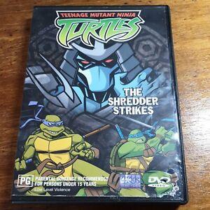 TMNT The Shredder Strikes  DVD R4   FREE POST