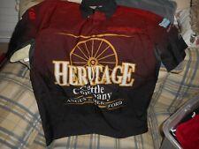 Heritage Cattle Company Boat Racing jersey sz M  - DSCN 1307