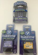 Buzztime Home Trivia System Wireless Controller And 2 Cartridges New