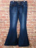 Revolt Jr 1 ( 0 00 24 ) Bell Bottom Super Flare Stretch Jeans Denim Festival Boh