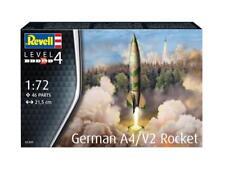 REVELL GERMAN A4 / V2 ROCKET MODEL KIT 1:72 SCALE - 03309