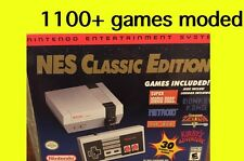 Nintendo Entertainment System NES Classic Edition Modded over 1100 games