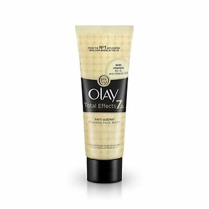 Olay Face Wash Total Effects 7 in 1 Exfoliating Cleanser, 100g X 1