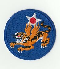 Patch US 14th Army Air Force Flying tiger cut Edge WW2 REPRODUCTION