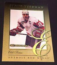 STEVE YZERMAN 1997-98 Donruss ELITE SERIES Gold Insert Card #6 SP #d /2500 HTF!!