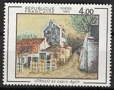 FRANCE TIMBRE NEUF N° 2297 ** LE LAPIN AGILE DE MAURICE UTRILLO