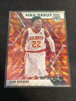 2019-20 Mosaic Cam Reddish NBA Debut Reactive Orange Prizm Rookie #271 Hawks