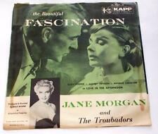 Jane Morgan Fascination 1957 Kapp K-191-X Pop Soundtrack Pic SL 45rpm Strong VG+