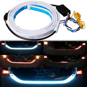 Fluid LED Strip Car Trunk Area Illumination Rear Brake Backup Turn Signal Light
