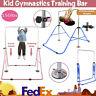 Adjustable Gym Horizontal Bar Kids Gymnastics Training Kip Bars Home Gym Play US