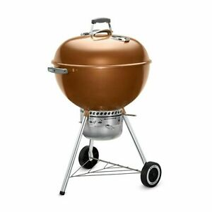 "Weber Original Kettle Premium 22"" Copper Charcoal Grill"