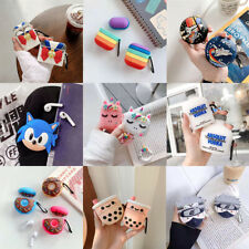 For AirPods Pro 2 1 Case Multi Cartoon Design Silicone Earphone Charging Cover