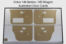 Volvo 144 4-door Sedan, 145 Wagon Door Cards. Blank Trim Panels 1966-1974