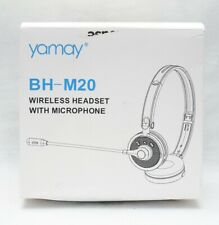 Yamay Wireless Headset With Microphone, Bluetooth Headset, Black - BH-M20