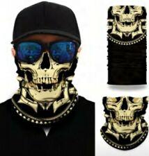 Face Shield Cover Bandana Skull Balaclava (Easy breathing) Multi Use