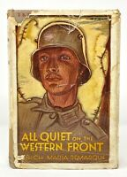 Erich Maria Remarque - All Quiet on the Western Front - 1st 1st 1929 - WWI