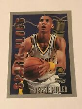 Reggie Miller 1995-96 Topps Spark Plugs Insert Card #SP3 Indiana Pacers
