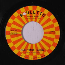 DAVE 'BABY' CORTEZ: Count Down / Summertime Cha Cha 45 Soul