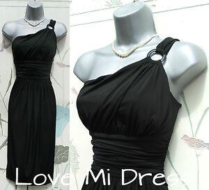 NEXT - One Shoulder Grecian Style Dress Sz 8 EU36