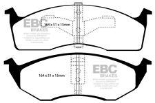 EBC Ultimax Front Brake Pads for Chrysler (USA) Grand Voyager 2.5 TD (98 > 00)