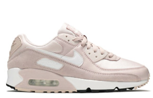 Nike Women's Air Max 90's Size 9 Baby Pink Barely Rose Sneaker Shoes Cute