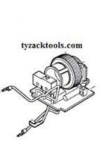 Dremel 4000 Serie acceso-spento Elettronico commutatore di velocità 2610003445