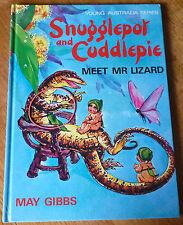 MAY GIBBS ~ SNUGGLEPOT & CUDDLEPIE MEET MR LIZARD  Lge HC 1987