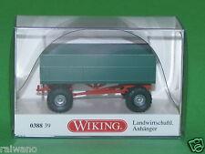 1:87 Wiking 038839 Landwirtschaftlicher Anhänger Blitzversand per DHL-Paket