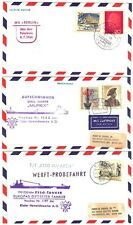 Germany 1960's Six Berlin Ship Covers Different Cancels