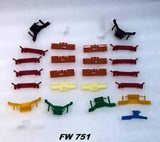 2 Door Acura Integra Ls Windshield Glass Clip Kit 1994 1995 1996 1997 1998-01