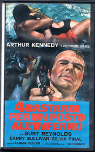 4 BASTARDI PER UN POSTO ALL'INFERNO (1969) VHS Video VA