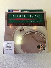 *50% OFF* Royal Wulff Triangle Taper Spey Fly Line 10 Weight Floating 80 Ft