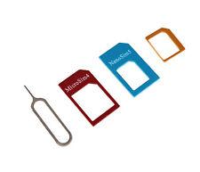 Convert Nano SIM Card to Micro Standard SIM Adapter Set for Nokia Lumia 640 XL s