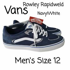 New listing Vans Mens Geoff Rowley Rapidweld Pro Ultracush Skate Shoe Navy Extra Laces SZ 12