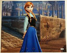 KRISTEN BELL Signed 16x20 Photo #2 Disney's FROZEN Voice of Anna Beckett BAS COA