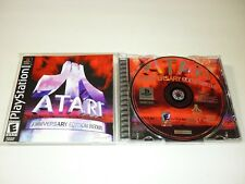 Atari Anniversary Edition Redux (Sony PlayStation 1, 2001) PS1 PSX PS - COMPLETE