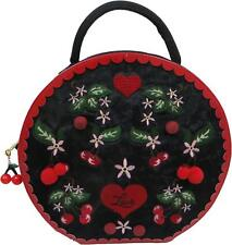 Irregular Choice Cherry Love WOMEN'S Top Manico Borsa con tracolla staccabile nuova