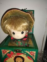 Precious Moments Doll Musical Jack in the Box Christmas Theme by Enesco