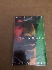 JUST - ICE THE MUSIC  FACTORY SEALED CASSETTE SINGLE 6
