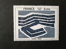 Variété timbre France 1980 Yt 2075b neuf XX cote 750 euros