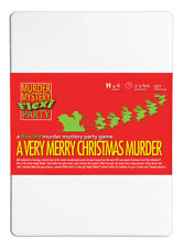 A Very Merry Christmas Murder Mystery Flexi Party 4-8 Players FAMILY FRIENDLY
