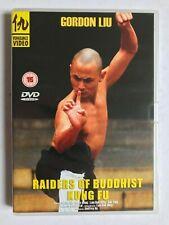 GORDON LIU - Raiders Of Buddhist Kung Fu ( Vengeance Video DVD, 2004)
