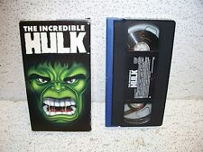The Incredible Hulk VHS Video Tape Out of Print