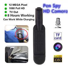 Mini T189 12MP Full HD 1080P DV DC Pen Voice Recorder Digital Video Camera UK