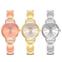 LVPAI Women Popular Quartz Analog Wristwatch Stainless Steel Bracelet Watch