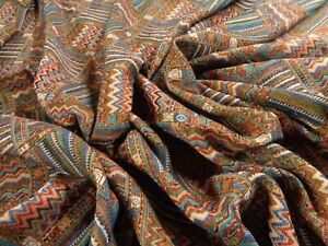 MODERN TAPESTRY FABRIC NEW INTERESTING  AFRICAN DESIGN   BY THE METRE