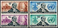 Rwanda 1966 SG#144-147 Pope Pauls Visit To UN MNH Set #D58745